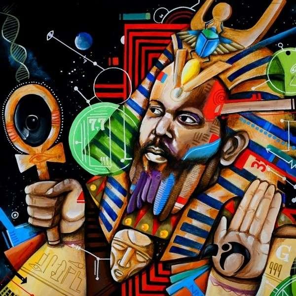 Copertina Disco Vinile 33 giri Back on the Planet [2 LP] di Ras G