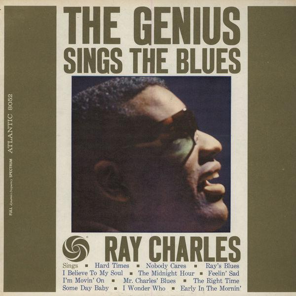 Copertina Disco Vinile 33 giri The Genius Sings the Blues di Ray Charles