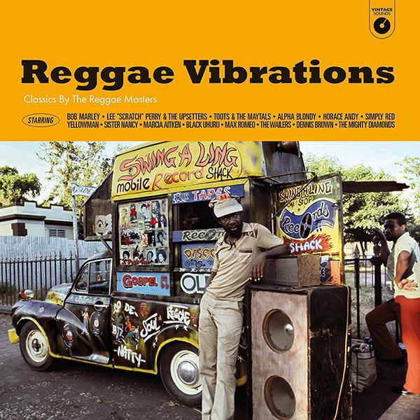 Copertina Vinile 33 giri Reggae Vibrations di