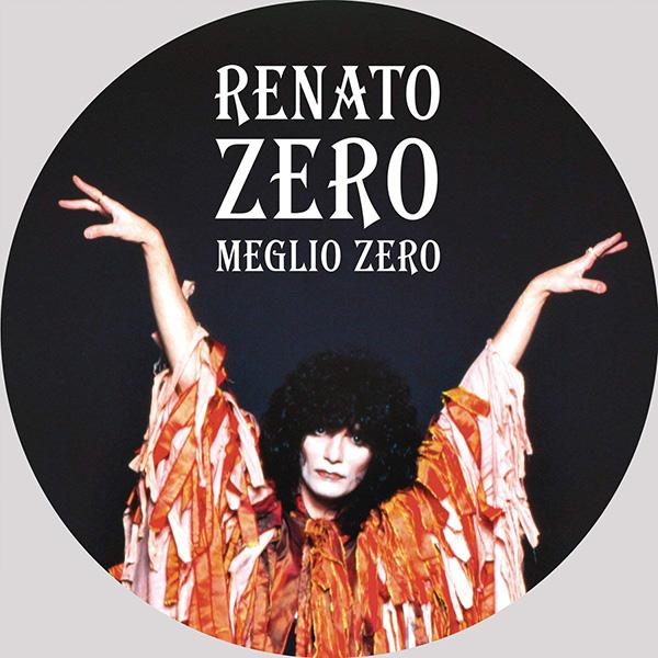 Copertina Vinile 33 giri Meglio Zero [Picture Disc] di Renato Zero