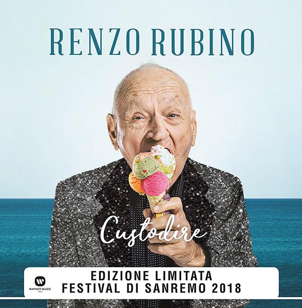 Copertina Vinile 33 giri Custodire [Singolo 45 Giri] di Renzo Rubino