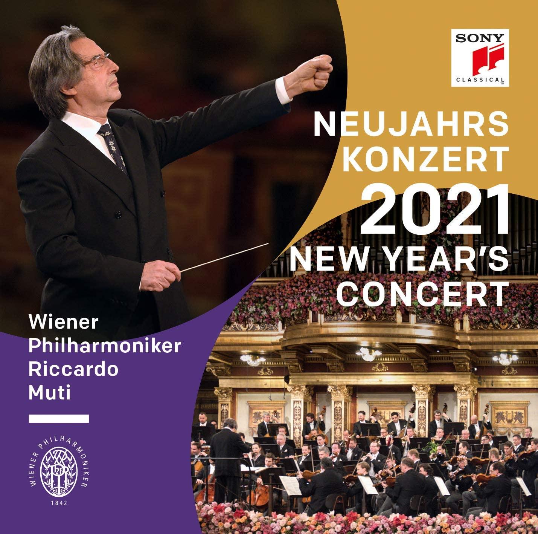 Copertina Vinile 33 giri Concerto di Capodanno 2021 [3 LP] di Riccardo Muti