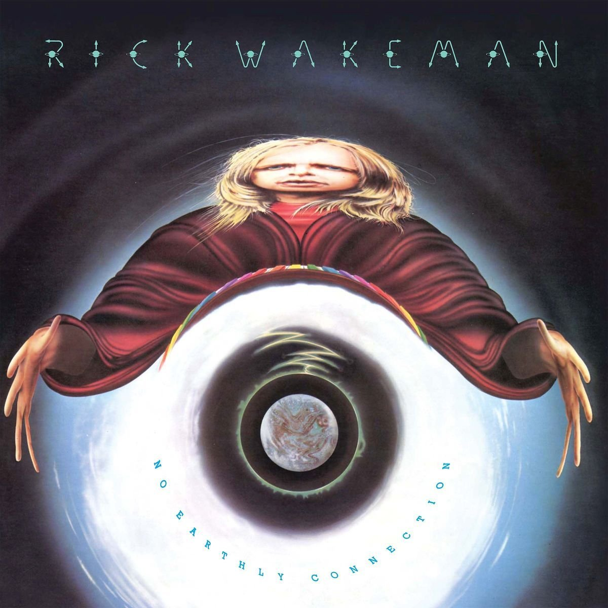 Copertina Disco Vinile 33 giri No Earthly Connection di Rick Wakeman