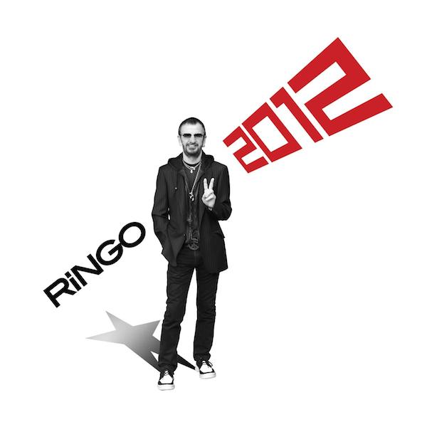 Copertina Disco Vinile 33 giri Ringo 2012 di Ringo Starr