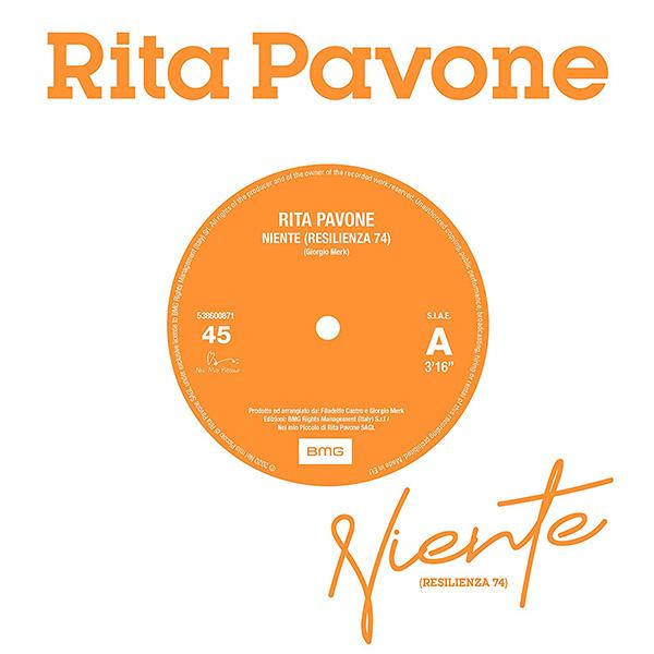 Copertina Vinile 33 giri Niente (Resilienza 74) [Singolo 45 Giri] di Rita Pavone