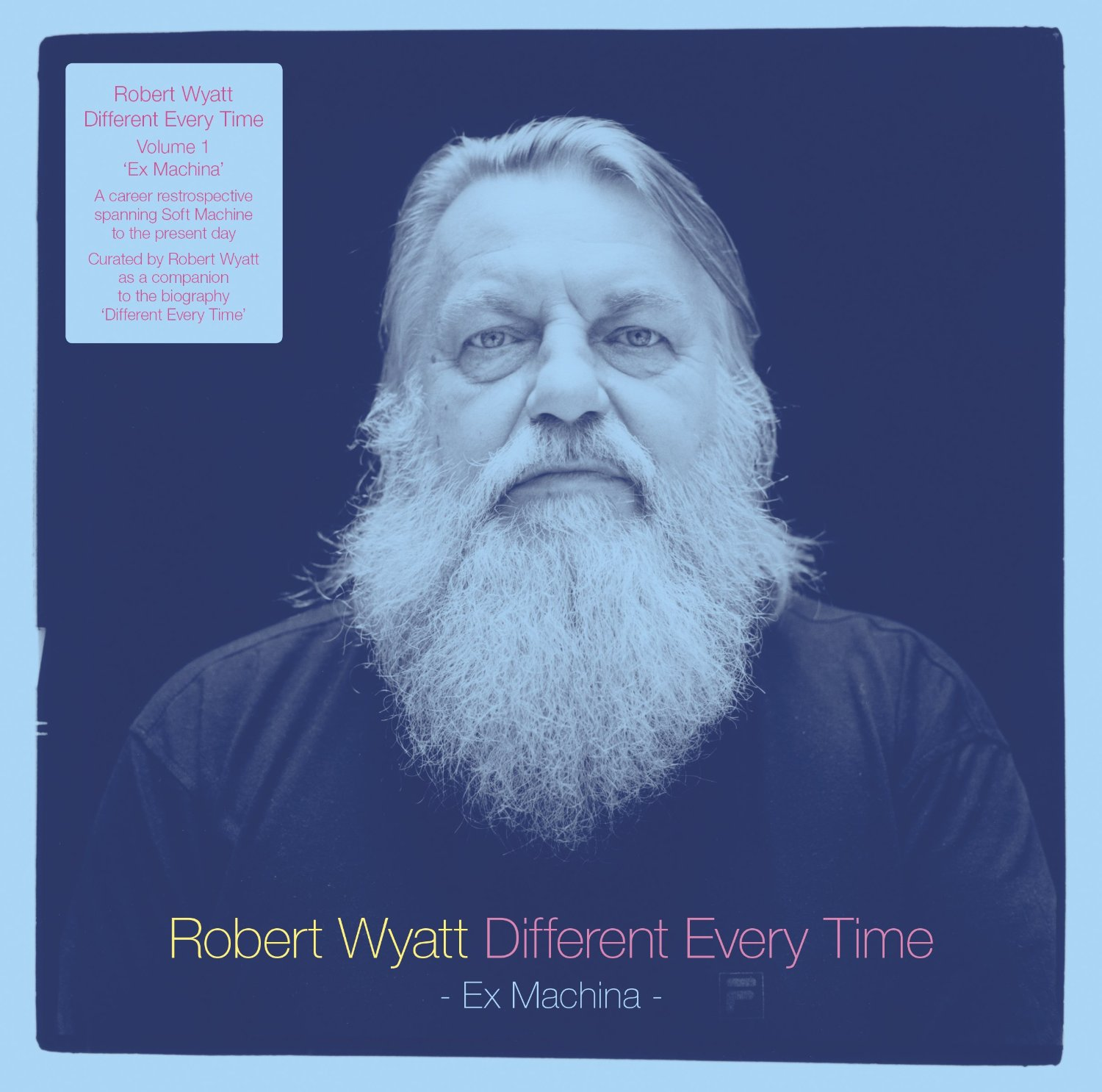 Copertina Disco Vinile 33 giri Different Every Time - Volume 1 [2 LP] di Robert Wyatt