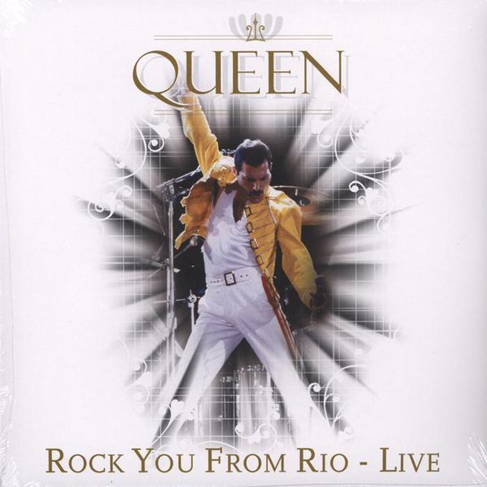 Copertina Disco Vinile 33 giri Rock You From Rio - Live di Queen