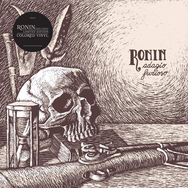 Copertina Disco Vinile 33 giri Adagio Furioso di Ronin