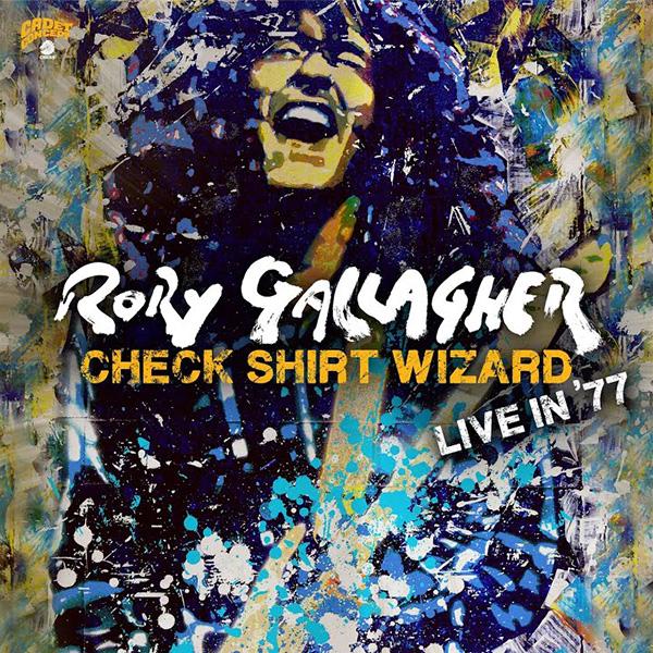 Copertina Vinile 33 giri Check Shirt Wizard | Live in '77 [3 LP] di Rory Gallagher