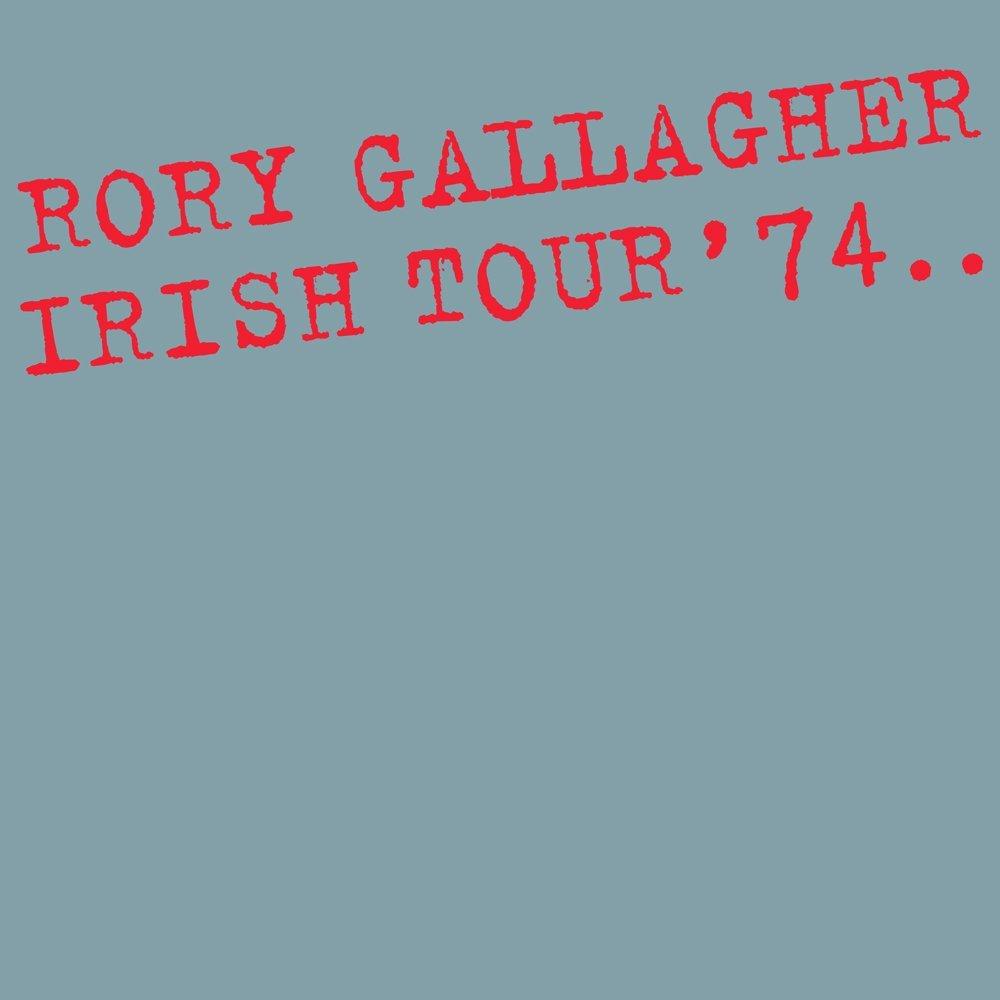 Copertina Disco Vinile 33 giri Irish Tour 74 [Deluxe - 3 LP] di Rory Gallagher