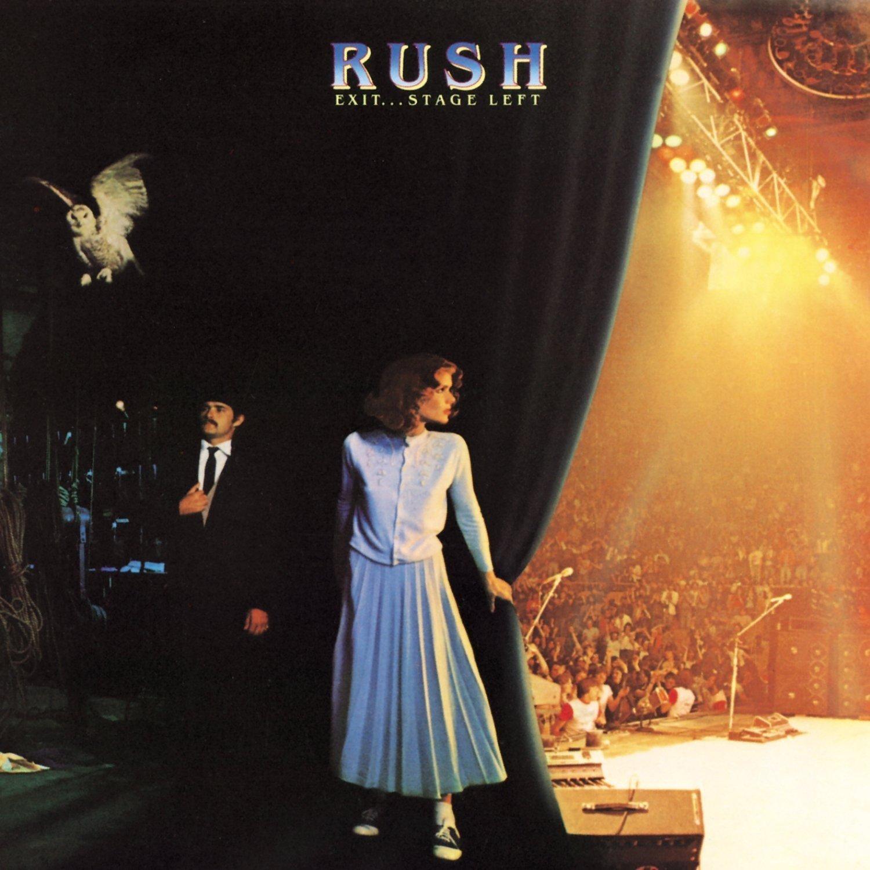 Copertina Disco Vinile 33 giri Exit...Stage Left [2 LP] di Rush
