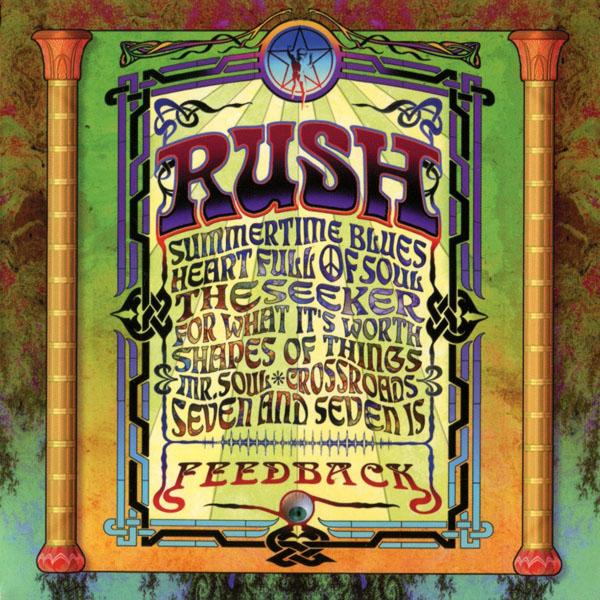 Copertina Disco Vinile 33 giri Feedback di Rush