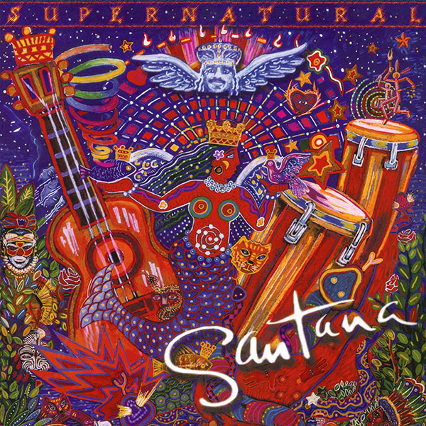Copertina Vinile 33 giri Supernatural [2 LP] di Santana