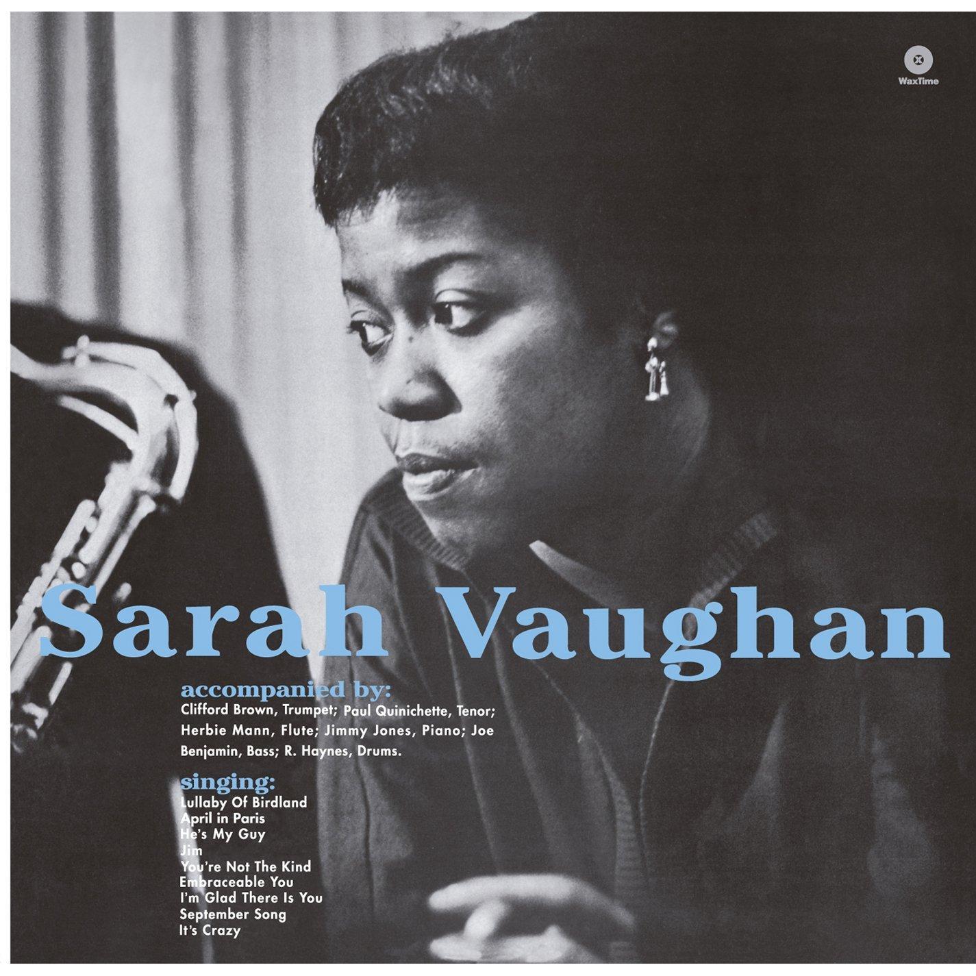 Copertina Disco Vinile 33 giri Sarah Vaughan with Clifford Brown di Sarah Vaughan