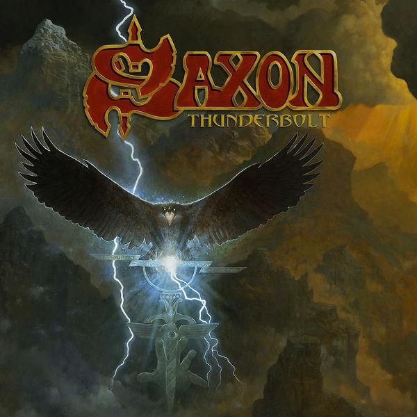 Copertina Vinile 33 giri Thunderbolt di Saxon