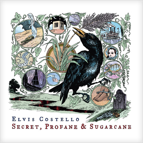 Copertina Disco Vinile 33 giri Secret Profane & Sugarcane [2 LP] di Elvis Costello
