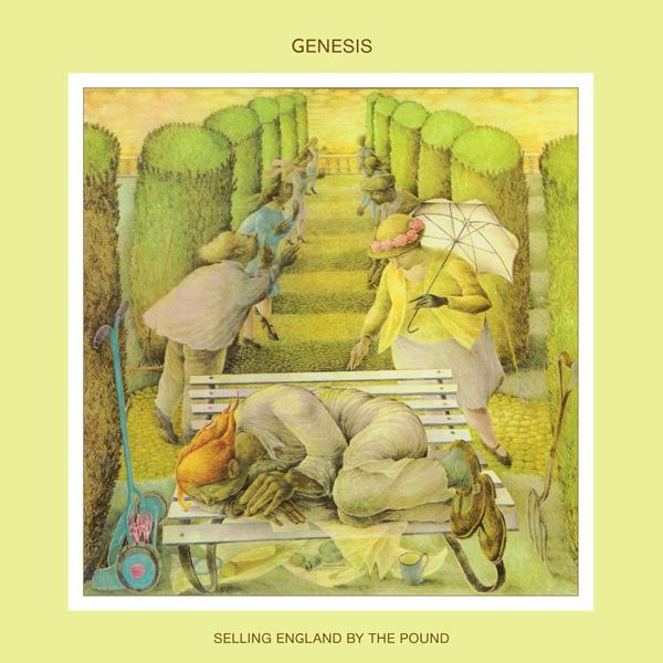 Copertina Disco Vinile 33 giri Selling England by the Pound di Genesis