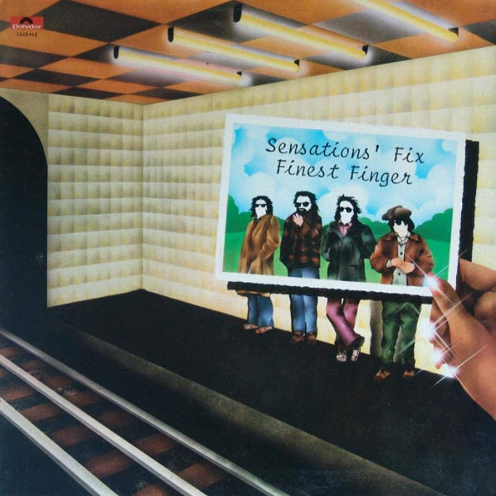 Copertina Vinile 33 giri Finest Finger di Sensations' Fix