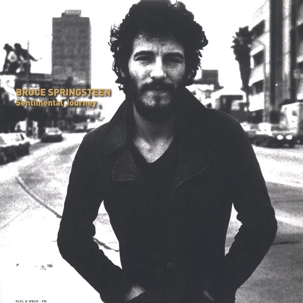 Copertina Disco Vinile 33 giri Sentimental Journey  di Bruce Springsteen
