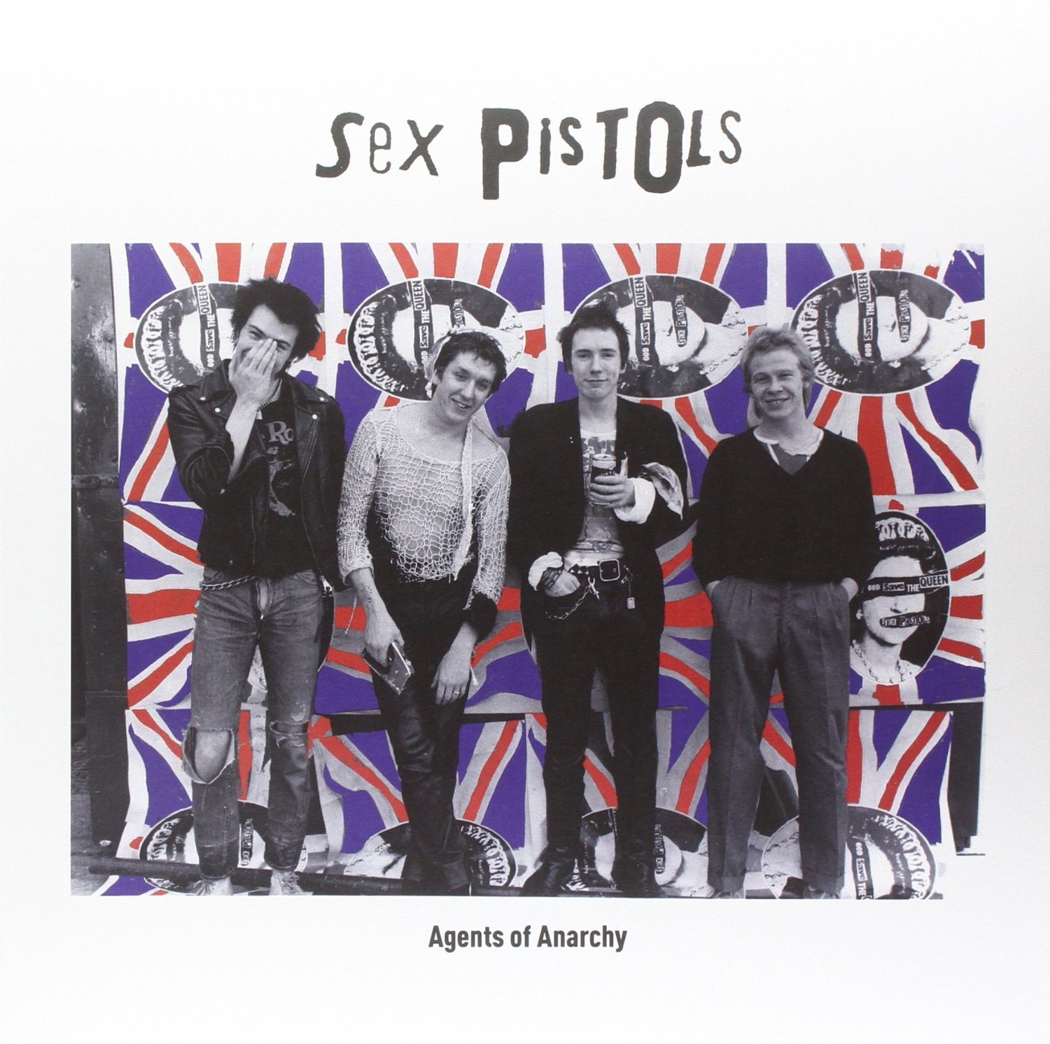Copertina Disco Vinile 33 giri Agents of Anarchy di Sex Pistols