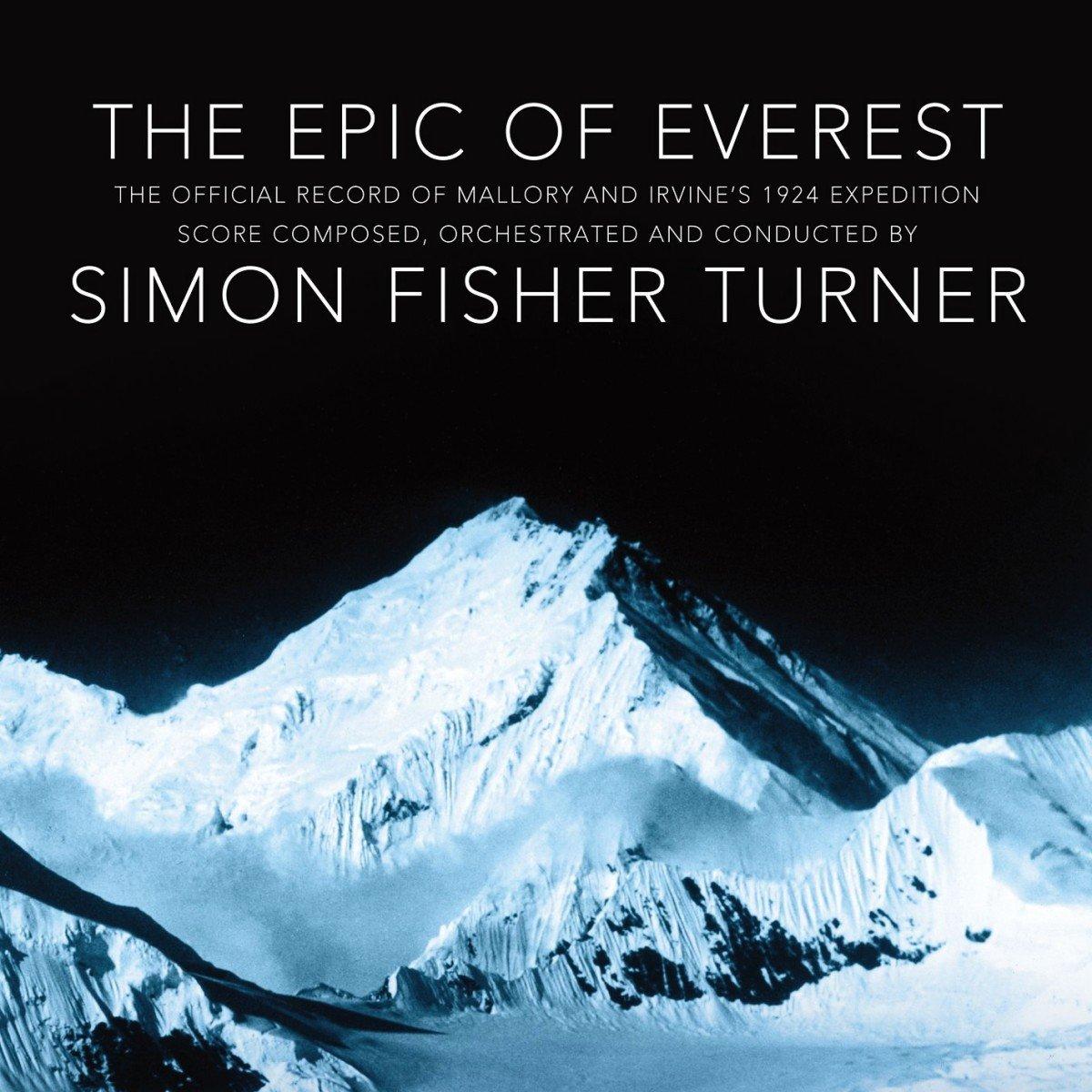 Copertina Disco Vinile 33 giri The Epic of Everest [Soundtrack LP+CD] di Simon Fisher Turner