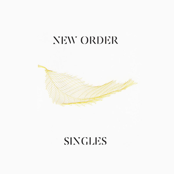 Copertina Disco Vinile 33 giri Singles [Cofanetto 4xLP] di New Order