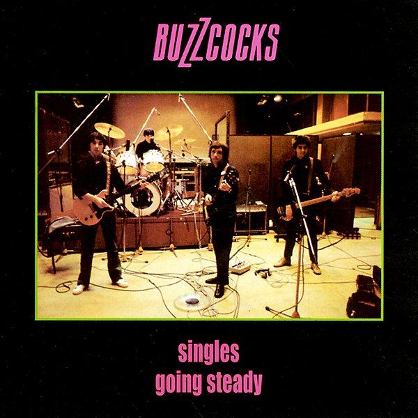 Copertina Disco Vinile 33 giri Singles Going Steady di Buzzcocks