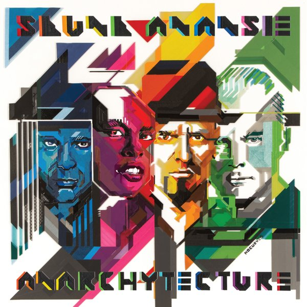 Copertina Disco Vinile 33 giri Anarchytecture di Skunk Anansie