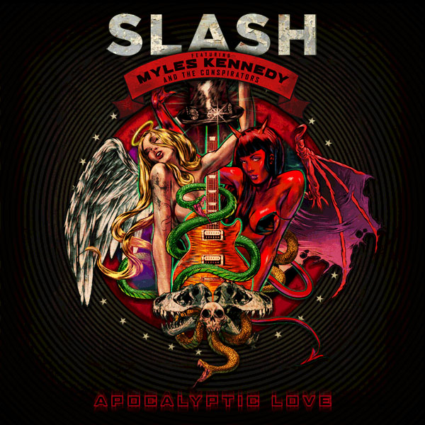 Copertina Disco Vinile 33 giri Apocalyptic Love [2 LP] di Slash
