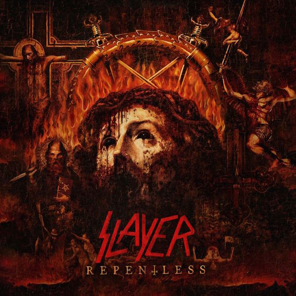 Copertina Disco Vinile 33 giri Repentless di Slayer