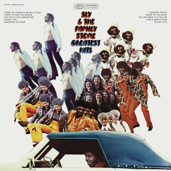 Copertina Vinile 33 giri Greatest Hits di Sly And The Family Stone