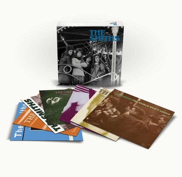 Copertina Disco Vinile 33 giri The Smiths  [Cofanetto 11xLP] di The Smiths