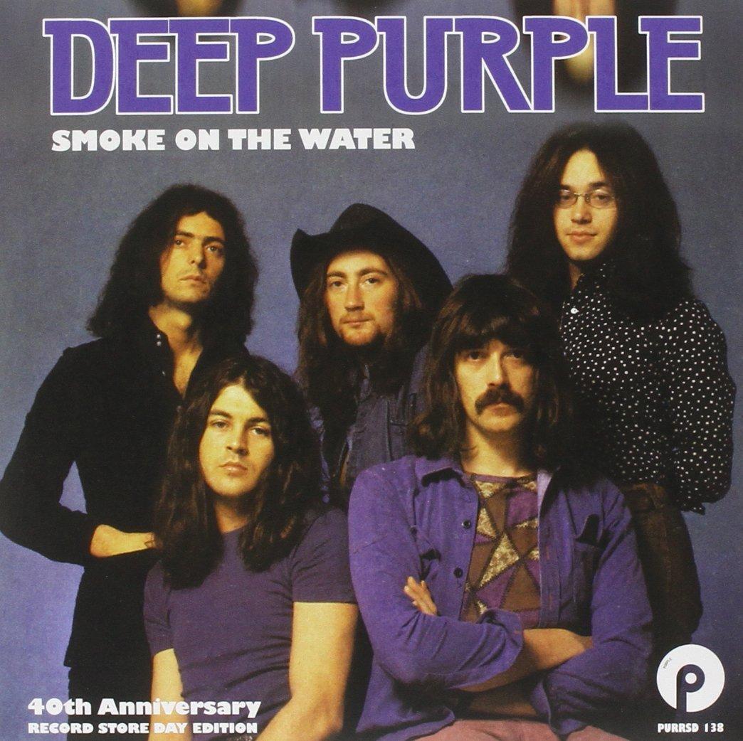 Copertina Disco Vinile 33 giri Smoke on the Water [Singolo 45 giri] di Deep Purple