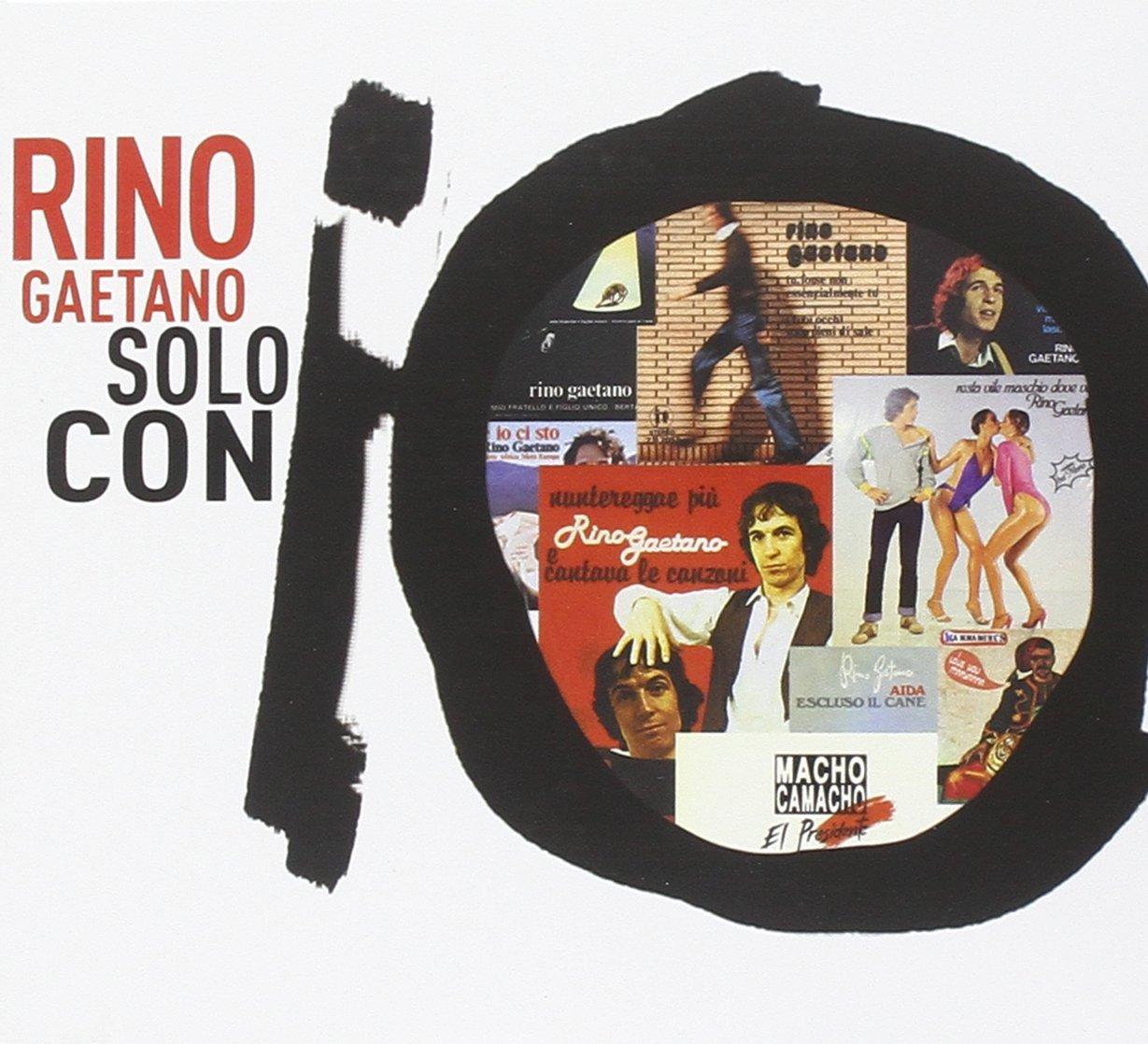 Copertina Disco Vinile 33 giri Solo Con Io [2 CD] di Rino Gaetano