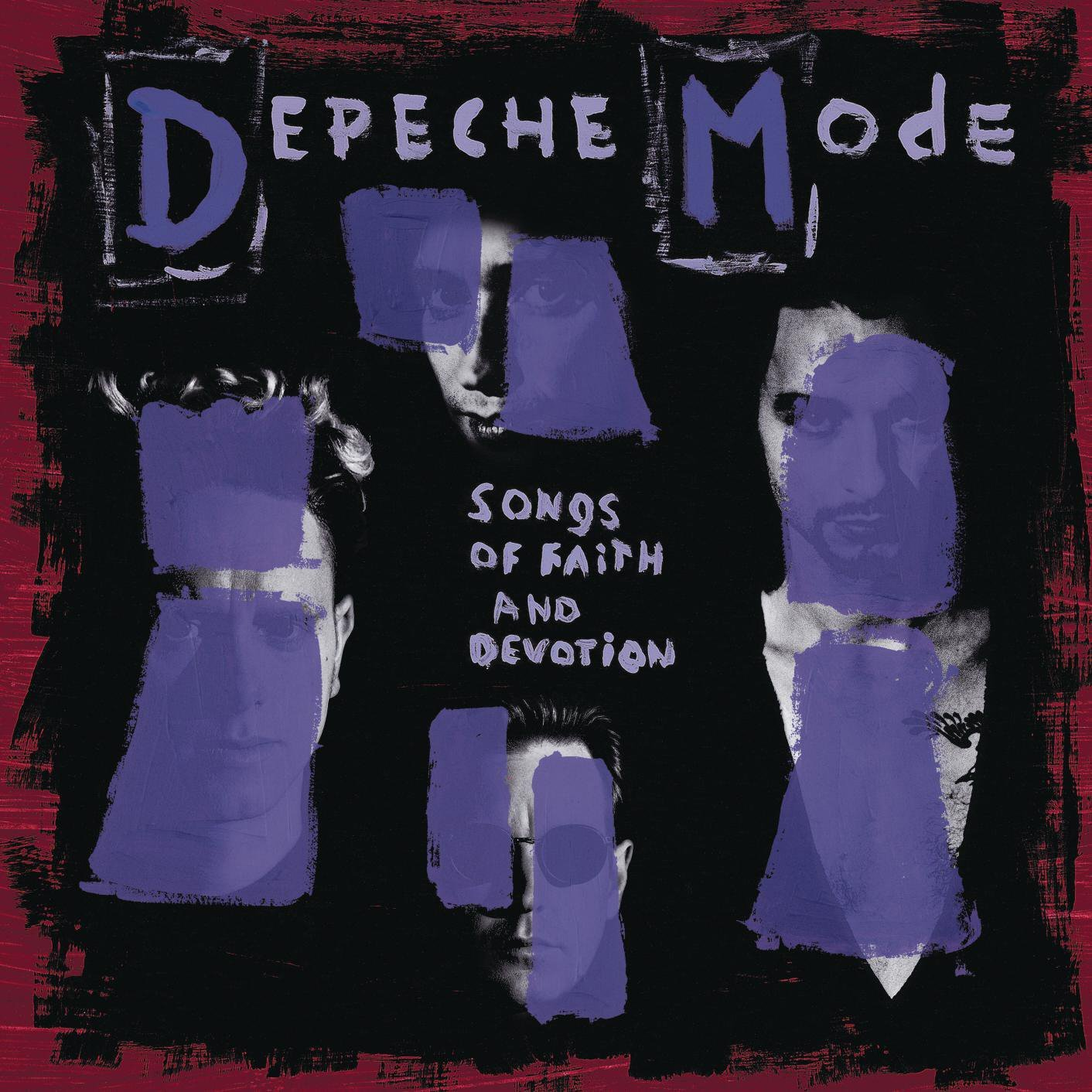 Copertina Disco Vinile 33 giri Songs of Faith and Devotion di Depeche Mode
