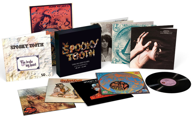 Copertina Disco Vinile 33 giri The Island Years 1967-1974 [Cofanetto 8xLP] di Spooky Tooth