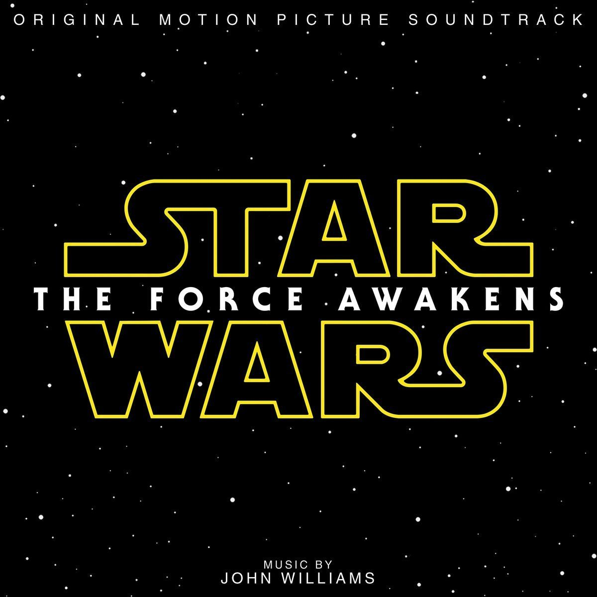 Copertina Disco Vinile 33 giri Star Wars: The Force Awakens [Soundtrack 2xLP] di John Williams