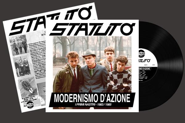 Copertina Disco Vinile 33 giri Modernismo d'Azione [I Primi Nastri 1983-1985] di Statuto