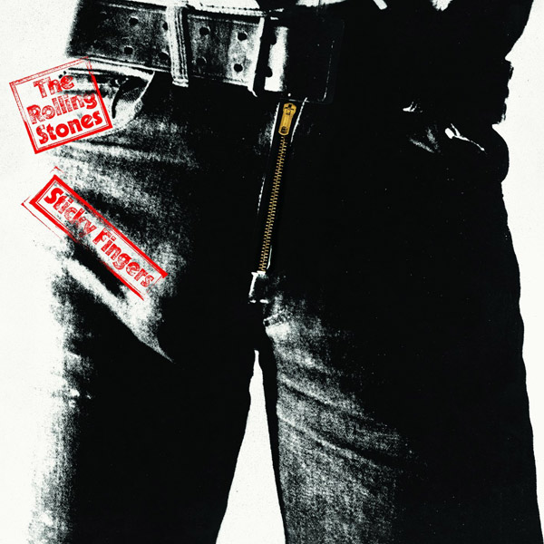 Copertina Disco Vinile 33 giri Sticky Fingers  di The Rolling Stones