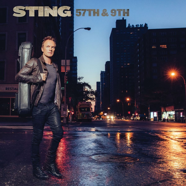 Copertina Disco Vinile 33 giri 57th & 9th di Sting