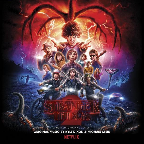 Copertina Vinile 33 giri Stranger Things 2 [Soundtrack 2xLP] di Kyle Dixon & Michael Stein
