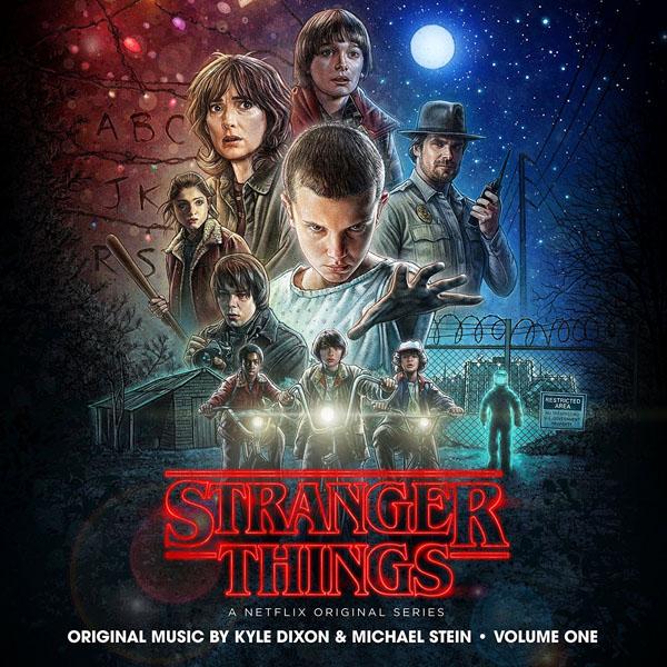 Copertina Disco Vinile 33 giri Stranger Things Vol.1 [Soundtrack 2xLP] di Kyle Dixon & Michael Stein