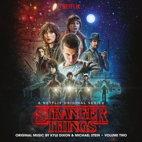 Copertina Disco Vinile 33 giri Stranger Things Vol.2 [Soundtrack 2xLP] di Kyle Dixon & Michael Stein