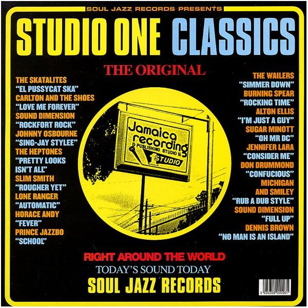Copertina Disco Vinile 33 giri Studio One Classics [2 LP] di Artisti Vari