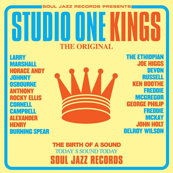 Copertina Vinile 33 giri Studio One Kings [2 LP] di Artisti Vari