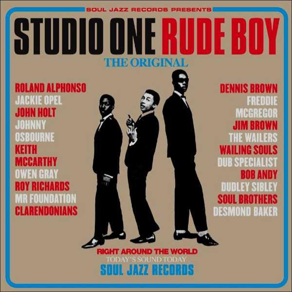 Copertina Disco Vinile 33 giri Studio One Rude Boy [2 LP] di Artisti Vari