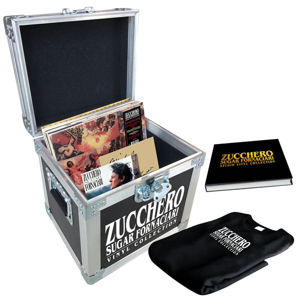 Copertina Vinile 33 giri Studio Vinyl Collection  di Zucchero