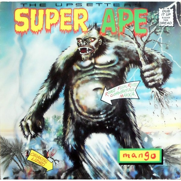 Copertina Disco Vinile 33 giri Super Ape di The Upsetters
