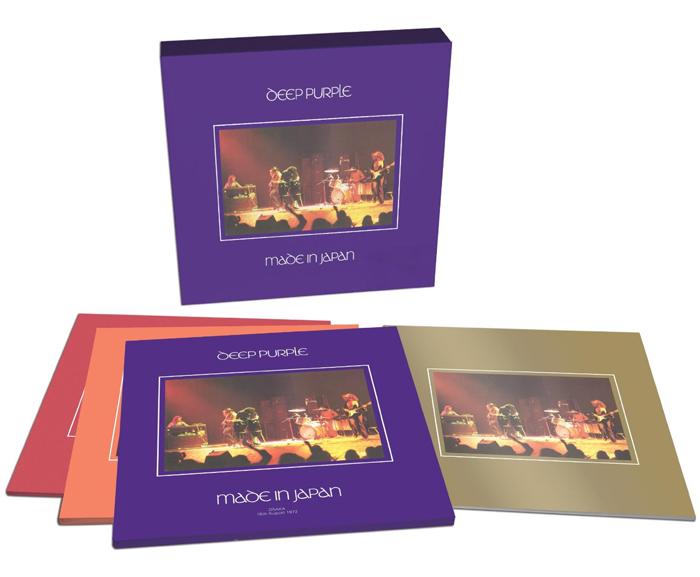 Copertina Disco Vinile 33 giri Made in Japan [Cofanetto Super Deluxe 9xLP] di Deep Purple