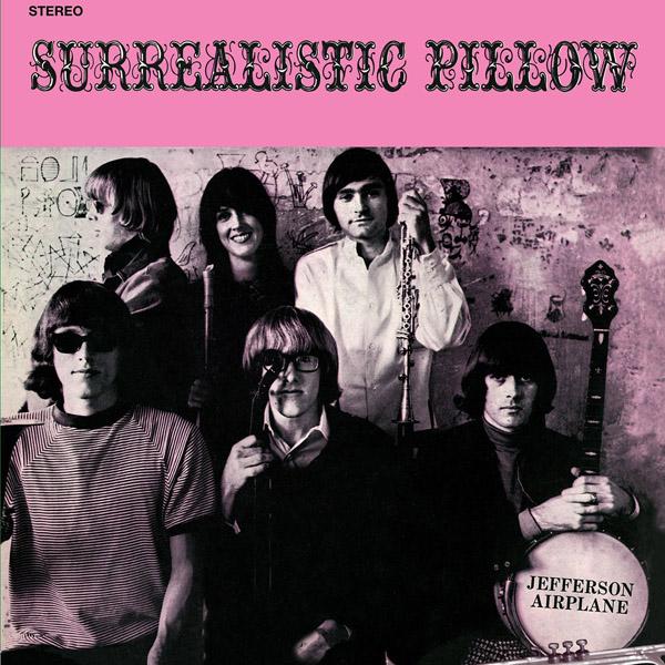 Copertina Disco Vinile 33 giri Surrealistic Pillow di Jefferson Airplane